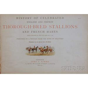 (Equestrian, Horse Racing), Touchstone, Geoffrey, Pseudonym