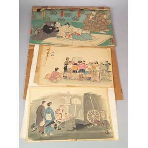 Six Japanese Prints