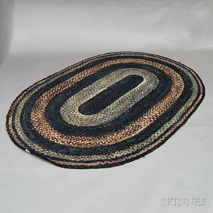 Oval Braided Carpet